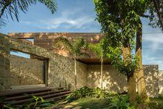 Studio Arthur Casas designed the Casa AL in Rio de Janeiro, Brasil