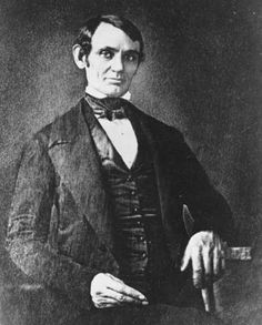 The oldest-known photograph of Lincoln, about 1847