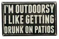 Box Sign - Outdoorsy