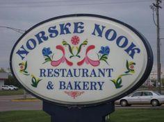 Norske Nook in Rice Lake, WI.  Best pies ever!