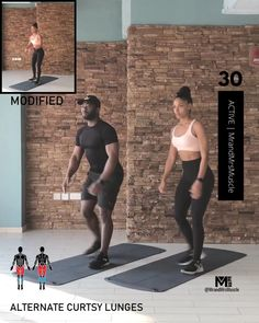 Fitness Workouts, Full Body Hiit Workout, Gym Workout Videos, Gym Workout For Beginners, Weight Loss Workout Plan, Workout Session, Workout Challenge, Desserts Diy, Apple Desserts