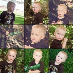 2 year old boy, 2nd birthday photography idea, Duck Dynasty photo shoot