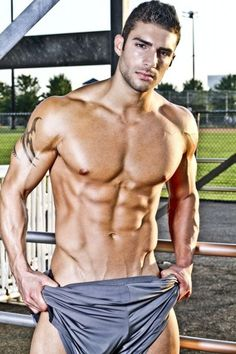 "MIKE KAGEE FASHION BLOG : ADAM AYASH THE HUNKY MODEL FROM ""ALL AMERICAN GUYS FAME"" IS PHYSICALLY CHALLENGING"