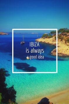 #Ibiza is always a good idea!! #Ibiza2014
