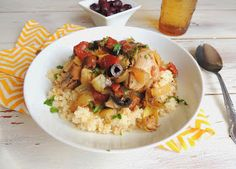 Mediterranean Crock Pot Chicken