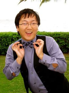 masi oka, is an actor on heroes hes always so full of hope, and hes funny too-- <3