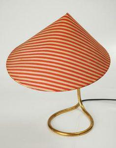 // 1950s Visor Table Lamp - Carl Aubock