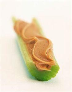 APPETIZER - Peanut butter and celery
