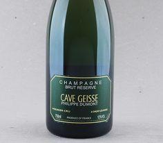 Champagne Premier Cru Cave Geisse e Philippe Dumont  - Selo Reserva