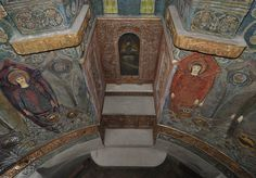 Watts Chapel, East Altar from above,  Photograph by Anne Purkiss  ©Watts Gallery