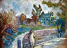 "Serge Sudeikin: ""View From the Bridge"""