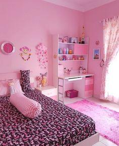Cute Bedroom Decor, Bedroom Decor For Teen Girls, Girl Bedroom Designs, Room Ideas Bedroom, Small Room Bedroom, Bedroom Themes, Bedroom Sets, Bedrooms, Small Room Design
