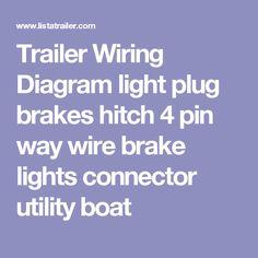 way trailer wiring diagram brakes images hopkins wiring diagram pin by cat6wiring on trailer wiring diagram trailers