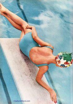 Couture Allure Vintage Fashion: Beautiful Vintage Swimsuit Photos - 1960
