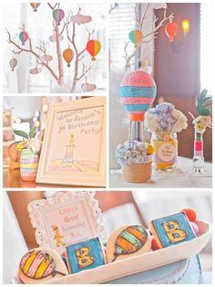 Dr. Seuss Oh The Places You'll Go 1st Birthday Party via Kara's Party Ideas KarasPartyIdeas.com #ohtheplacesyoullgo (1)
