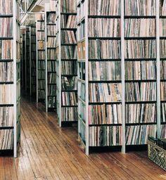 A room full of vinyl!