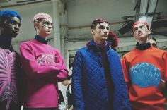 The line-up backstage at Katie Eary AW15 LCM. See more here: http://www.dazeddigital.com/fashion/article/23178/1/katie-eary-aw15