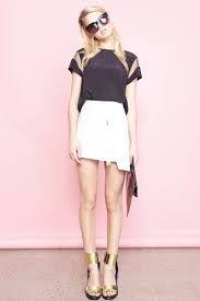 Skirts Objective Boohoo Black & White Skirt Size 12 Brand New