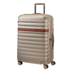 #Splendor spinner from #Samsonite, a hardsided #luggage with stylish case, spacious interior compartments and smooth wheels. Perfect for travelers who prefer a classic look. #travel #bags #baggage