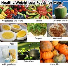 Consume top 9 weight loss foods specified for men and maintain healthy weight !