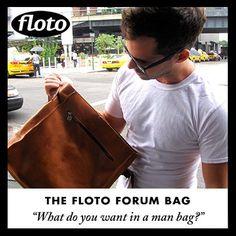 Floto Forum Brief - http://www.flotoimports.com/ForumBag-briefcase.html