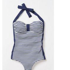 Anthropologie retro swim suit