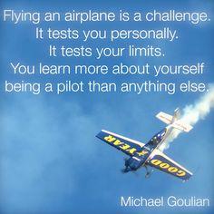 Michael Goulian on flying                                                       …