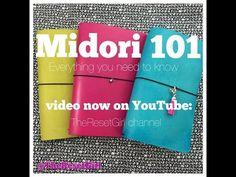 Midori 101:The Ultimate How-to for the Midori Traveler's Notebook feat. FoxyDori and JenDori - YouTube