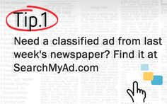 Need a #Classified Ad, Find it at #SearchMyAd