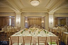 Room Decor. Toronto Wedding Planner, www.atozeventmana... at the King Edward Hotel photography by Scarlet O'Neill