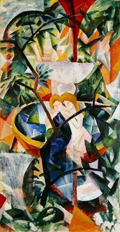August Macke - Two girls at the well