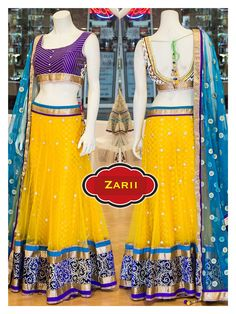 Chaniya Choli To place an order or inquire about the outfits please email at zarii.india@gmail.com Bridal Lehenga, Lehenga Choli, Sarees, Indian Bridal Wear, Long Skirts, Indian Outfits, Color Combos, Blouse Designs, Indian Fashion