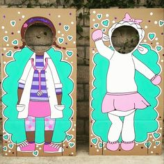 Custom doc mcstuffins photo cut-out props  Etsy: mylittlenotestore