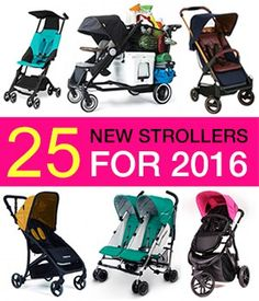 Last year many companies introduced a lot of great new models that I absolutely loved, soI thought there is no way this yearcouldbe any better. Well, I was wrong! The new strollers for2016 abso…