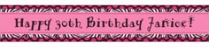 Another Year of Fabulous Custom Banner 6ft - Sweet 16 Birthday Banners - Custom Banners - Custom Invitations & Banners - Party City