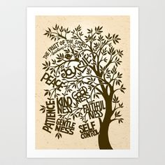 Fruit Of The Spirit (monotone) Art Print by Liyin Yeo - X-Small Spirited Art, Fruit Of The Spirit, Canvas Prints, Art Prints, Canvas Art, Diy Frame, Original Artwork, Vibrant Colors, How To Draw Hands