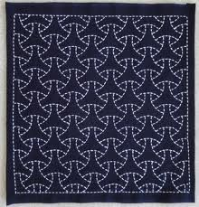 sashiko patterns - quilting/running stitch