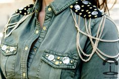 Crimenes de la Moda: DIY Military shirt