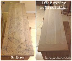 Beau Makeover Of My TV Unit With Chalk Paint Wash. Jill Scovel · Bleached Wood