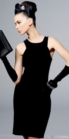 LBD's...because they never go out of style they seem to multiply and accumulate.