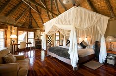 Experience wild romance at the Ulusaba Game Reserve, owned by Sir Richard Branson. - South Africa