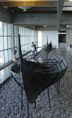 Viking ship museum (Vikingeskibsmuseet) Roskilde
