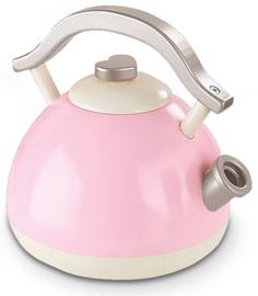 Pink Retro Tea Kettle