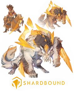 Shardbound - Juro, Nicholas Kole - Shounen And Trend Manga Fantasy Character Design, Character Design Inspiration, Character Art, Fantasy Monster, Monster Art, Creature Concept Art, Creature Design, Creature Drawings, Animal Drawings