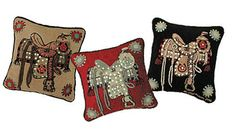 Desperade Couture has these great Judy Boisson pillows!