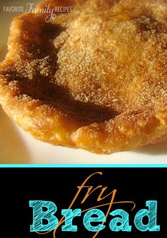 We love fry bread, you can use it to make delicious navajo tacos and elephant ears for dessert. #frybread #elephantearsrecipe