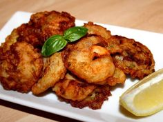 Fried Shrimp, Scampi, Fish Dishes, Tandoori Chicken, Chicken Wings, Fries, Food And Drink, Ethnic Recipes, Seafood