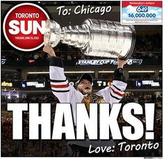 Toronto Sun cover celebrates Bruins defeat, Maple Leafs' inferiority complex (Photo) | Puck Daddy - Yahoo! Sports Canada
