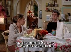 """When you had that crazy night out.   Community Post: 20 Times Kirk From """"Gilmore Girls"""" Was Incredibly Relatable"""