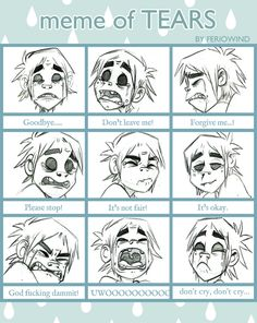 Tears Meme - 2D by Psychoon on DeviantArt